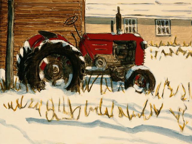 Tractor Study 3